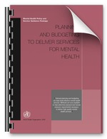 Planning and Budgeting to deliver Services for Mental Health