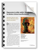 Depression in older adults: How to treat its distinct clinical manifestations